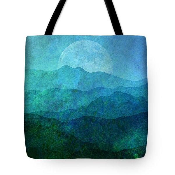 Moonlight Hills Tote Bag
