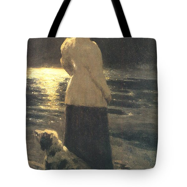 Moonlight Tote Bag by Ilya Repin
