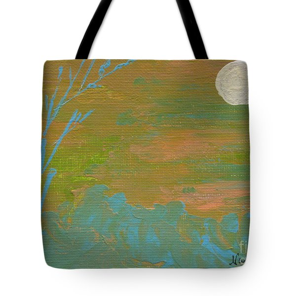Moonlight In The Wild Tote Bag