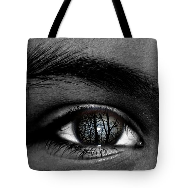 Moonlight In Your Eyes Tote Bag