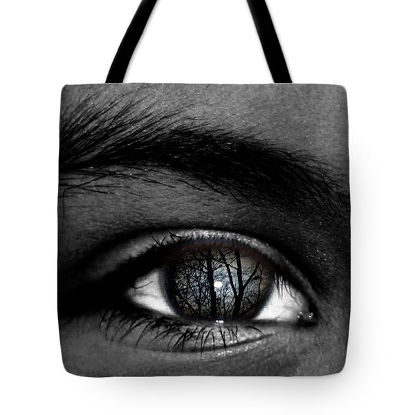 Moonlight In Your Eyes Tote Bag