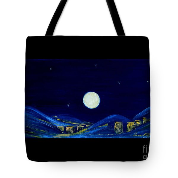 Moonlight. Winter Collection Tote Bag