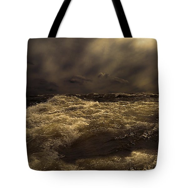 Moonlight On The Water Tote Bag by Bob Orsillo