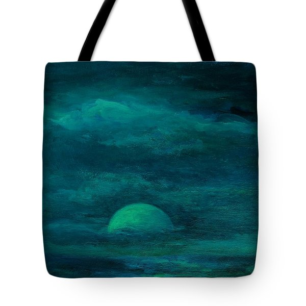 Moonlight On The Water Tote Bag