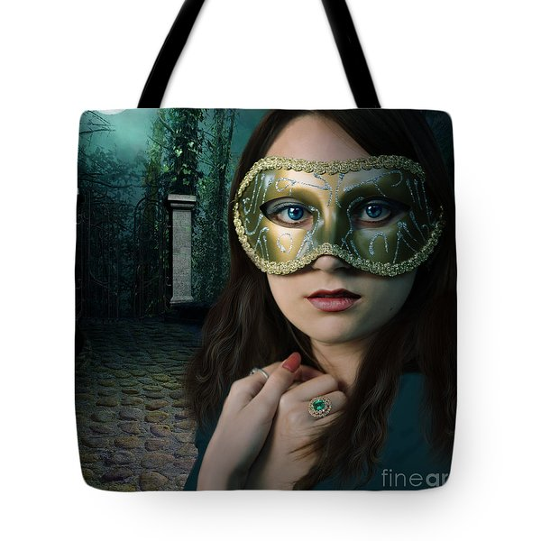 Moonlight Rendezvous Tote Bag by Linda Lees