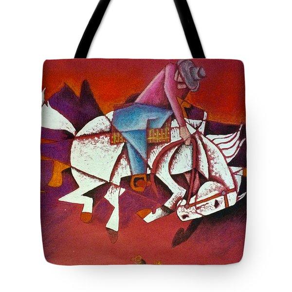 Moonlight Ride Tote Bag
