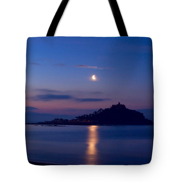 Moonlight St Michael's Mount Tote Bag