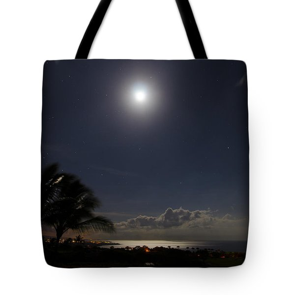 Moonlit Bay Tote Bag