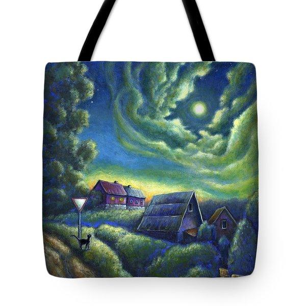 Moonlit Dreams Come True Tote Bag