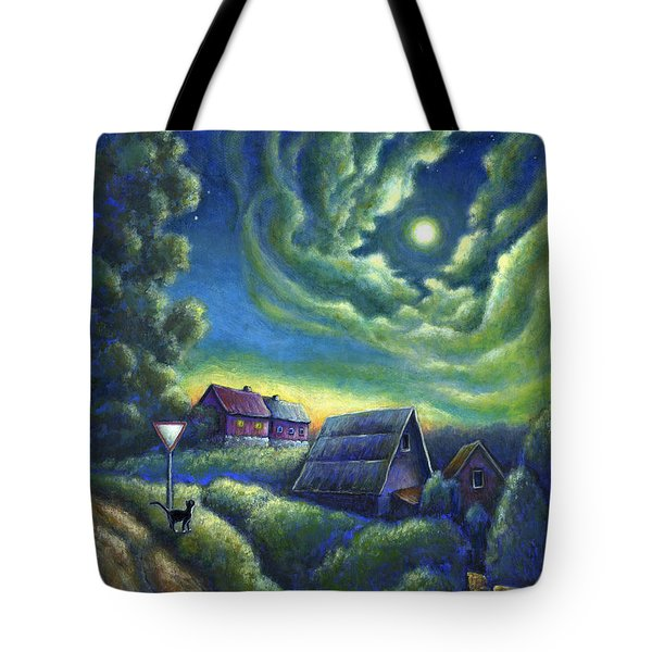 Moonlit Dreams Come True Tote Bag