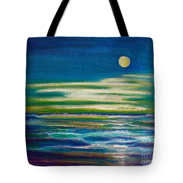 Moonlit Tide Tote Bag