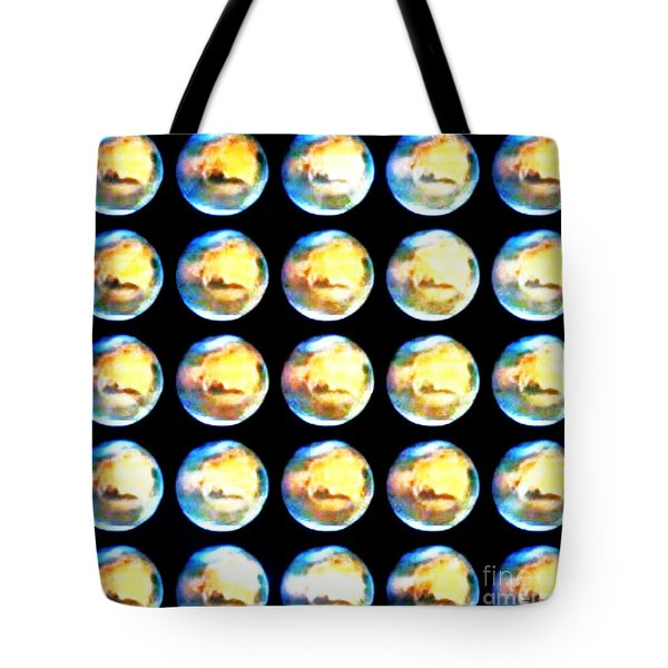 Moonmarbles Tote Bag by PainterArtist FIN