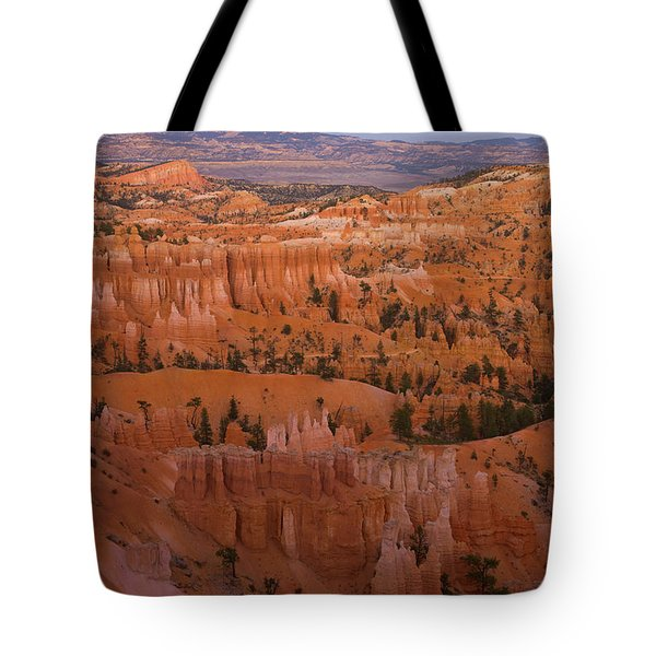 Moonrise Over Bryce Canyon Tote Bag