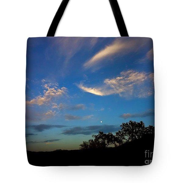 Moonrise Hill Tote Bag