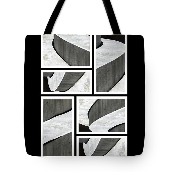 Moonscapes. Abstract Photo Collage 01 Tote Bag