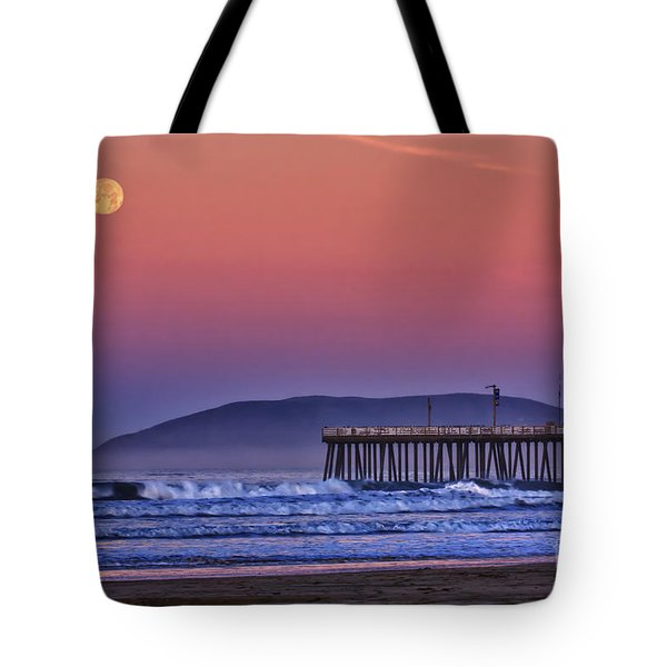 Moonset Tote Bag