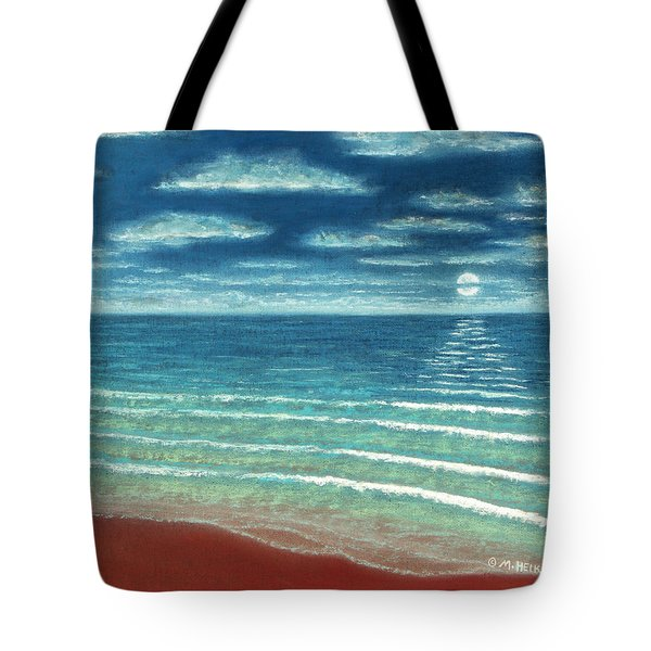 Moonset C Tote Bag
