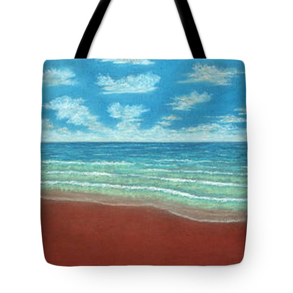 Moonset Triptych Tote Bag