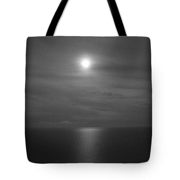 Moonshine Tote Bag by Jennifer E Doll