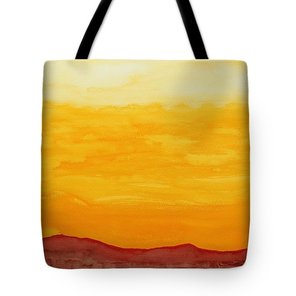 Moonshine Original Painting Sold Tote Bag by Sol Luckman