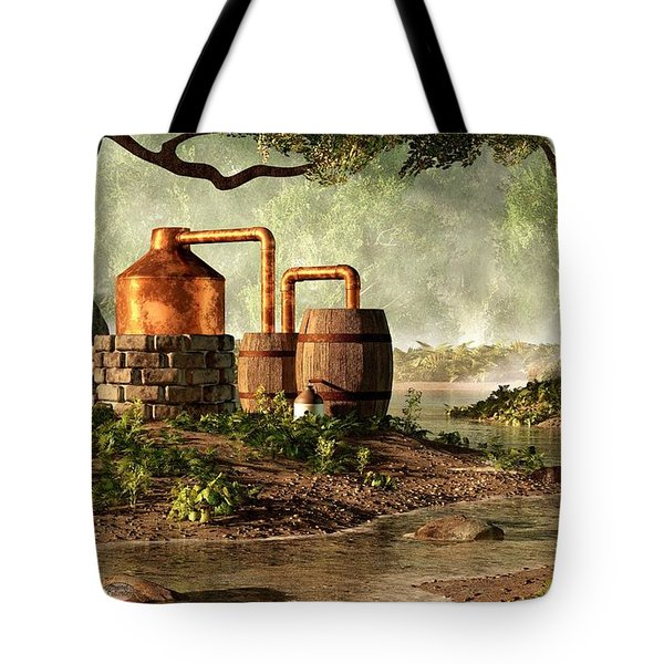 Moonshine Still 1 Tote Bag