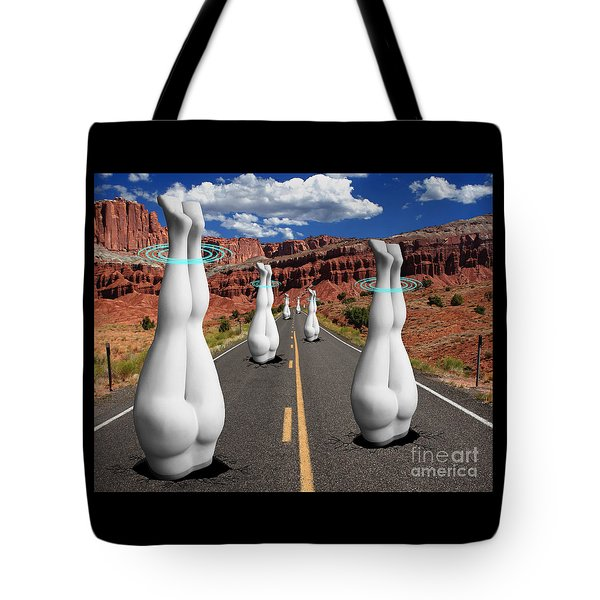 Moonvalley Tote Bag by Keith Dillon