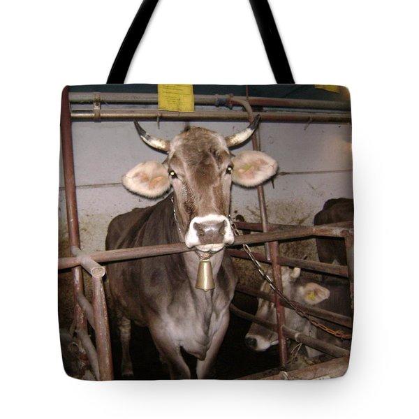 Mooooo Tote Bag