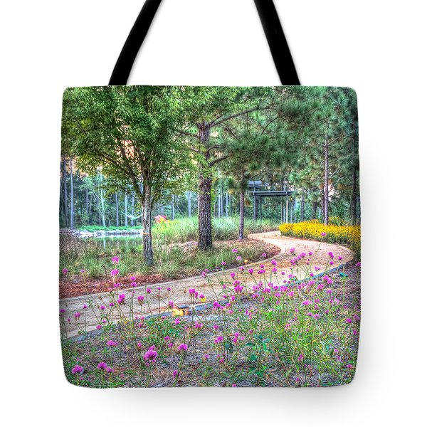 Moore Garden Stroll Tote Bag