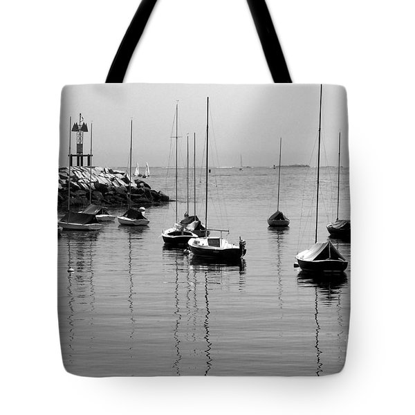 Moored Tote Bag by Eunice Miller