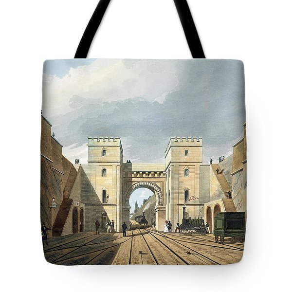 Moorish Arch, Looking From The Tunnel Tote Bag
