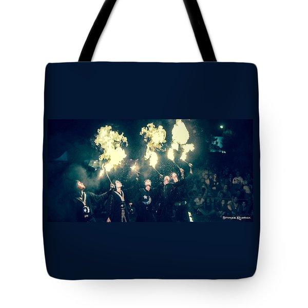 Tote Bag featuring the photograph Moorish Army  by Stwayne Keubrick