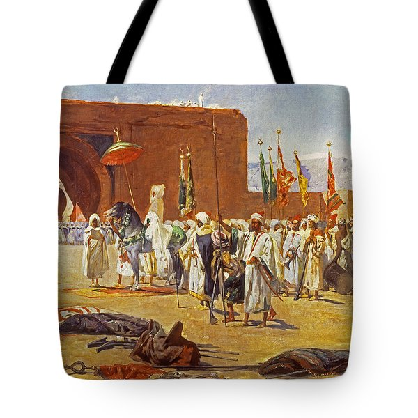 Moorish Procession Tote Bag