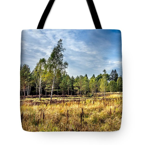Wetlands In The Black Forest Tote Bag