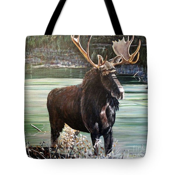 Moose County Tote Bag