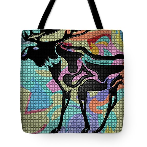 Moose Tracks Tote Bag by Robert Margetts