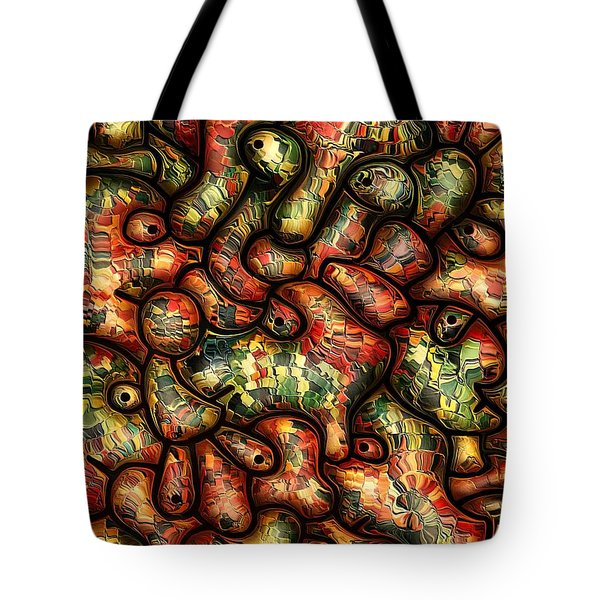 Mop By Rafi Talby Tote Bag by Rafi Talby
