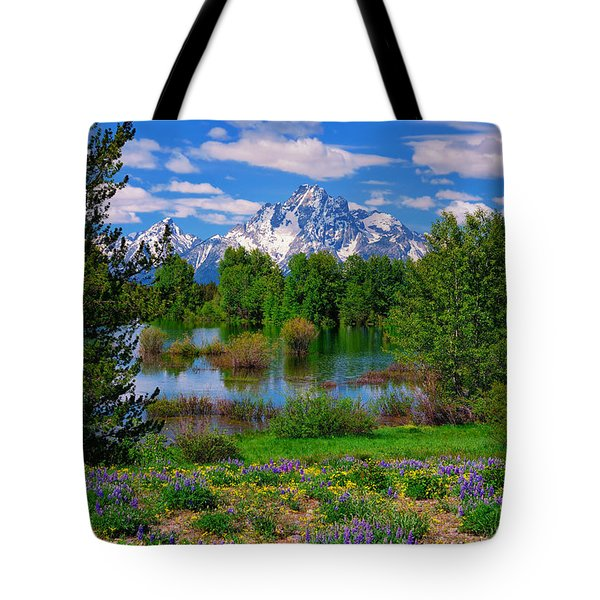 Moran From Pilgrim Creek Tote Bag