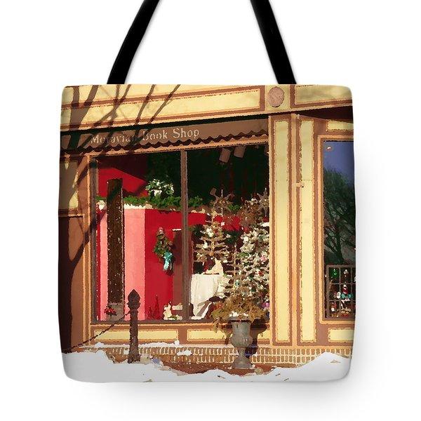 Moravian Book Shop Bethlehem Pa Tote Bag