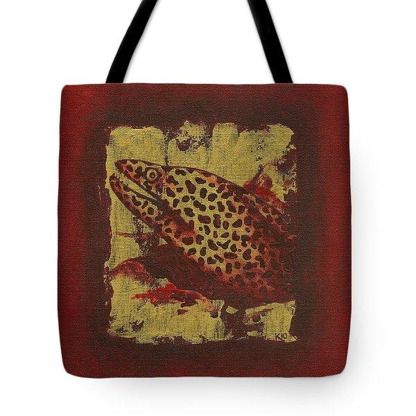 Moray Eel Tote Bag