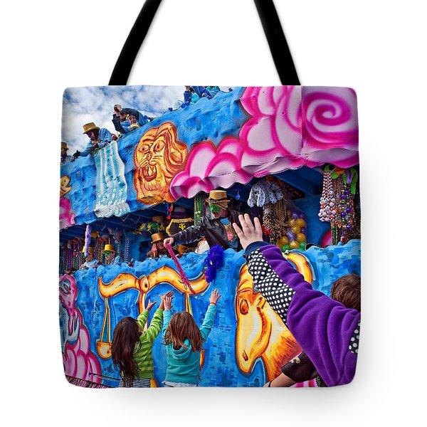 More Beads Please Tote Bag by Steve Harrington