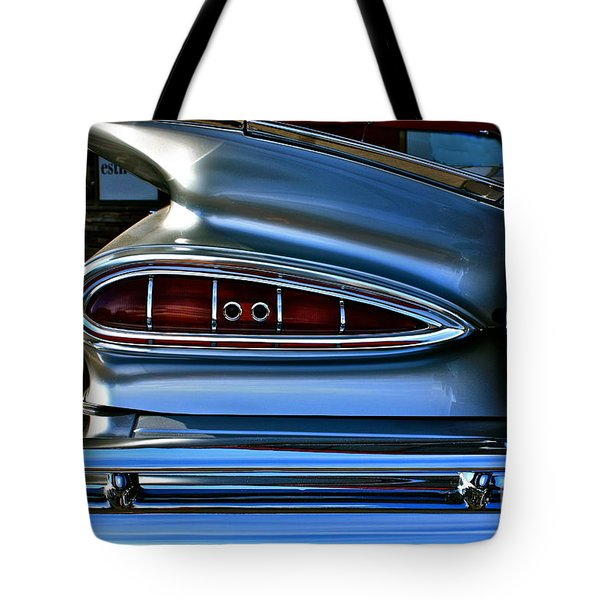 More Curves Than Marilyn Tote Bag by Linda Bianic