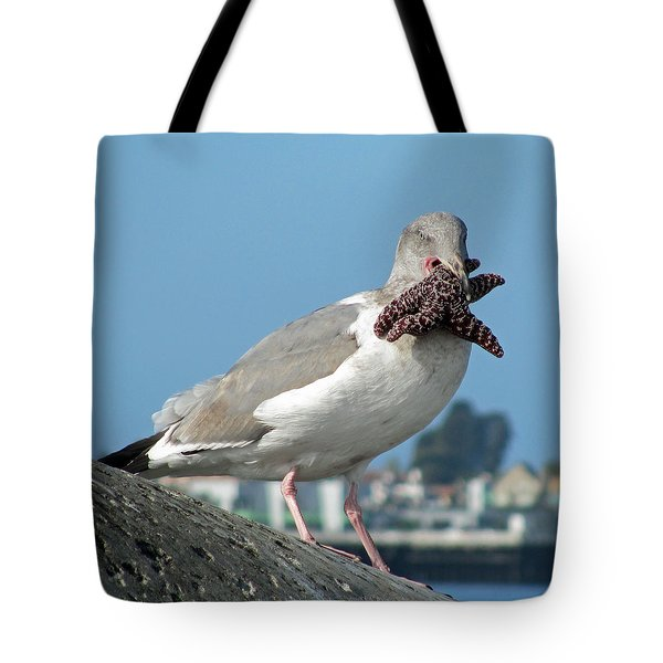 More Than He Can Chew  Tote Bag