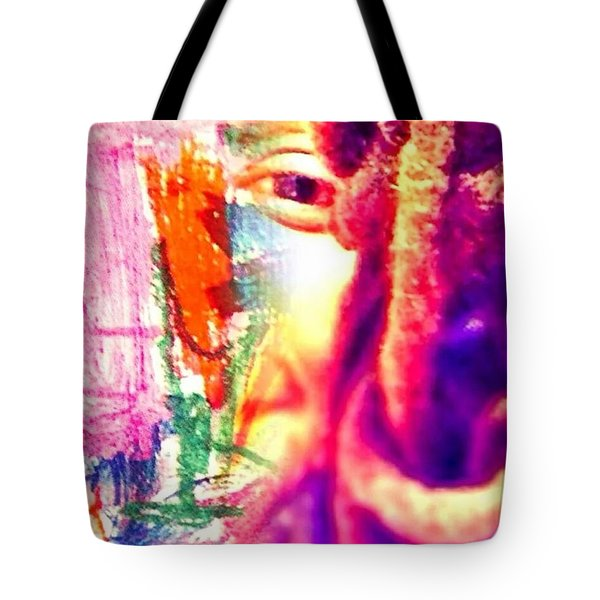 More Thoughts Tote Bag by Fania Simon