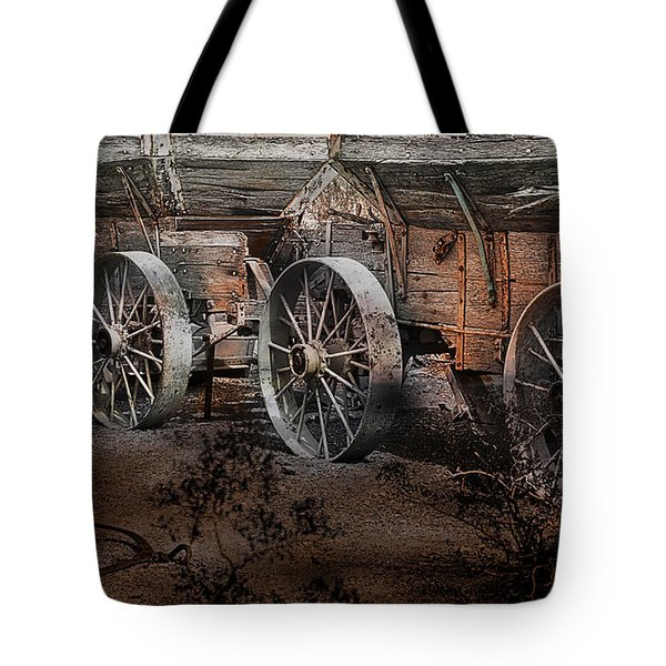 More Wagons East Tote Bag