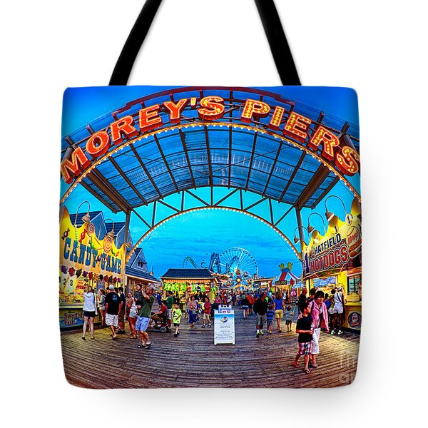 Moreys Piers In Wildwood Tote Bag