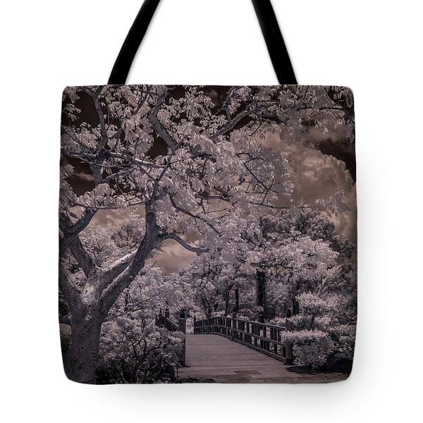 Morikami Gardens - Bridge Tote Bag