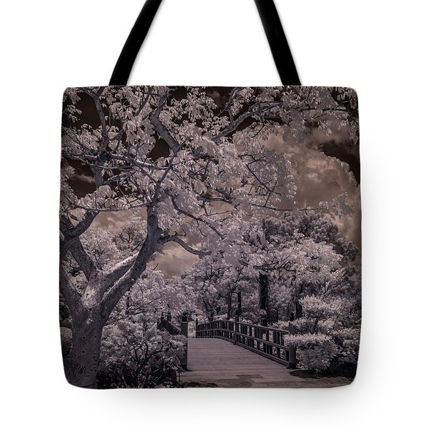 Morikami Gardens - Bridge Tote Bag