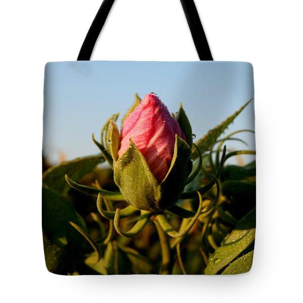 Mornig Flower Tote Bag