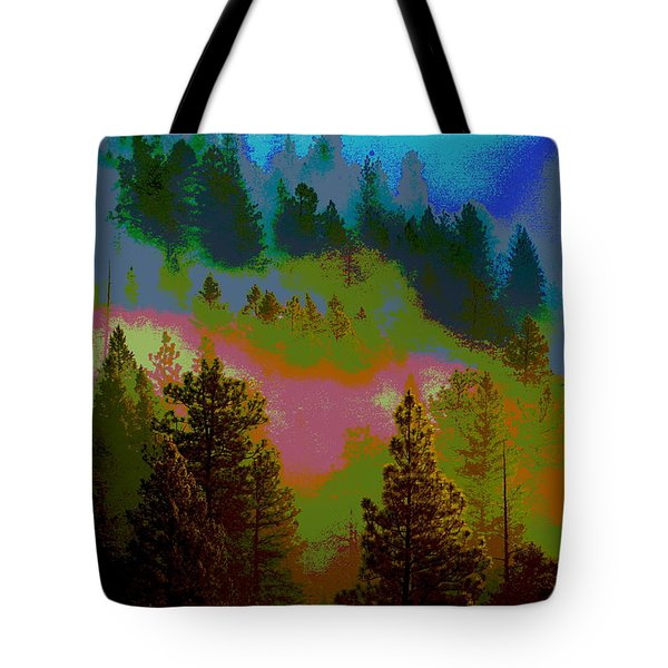 Morning Arrives In The Pacific Northwest Tote Bag