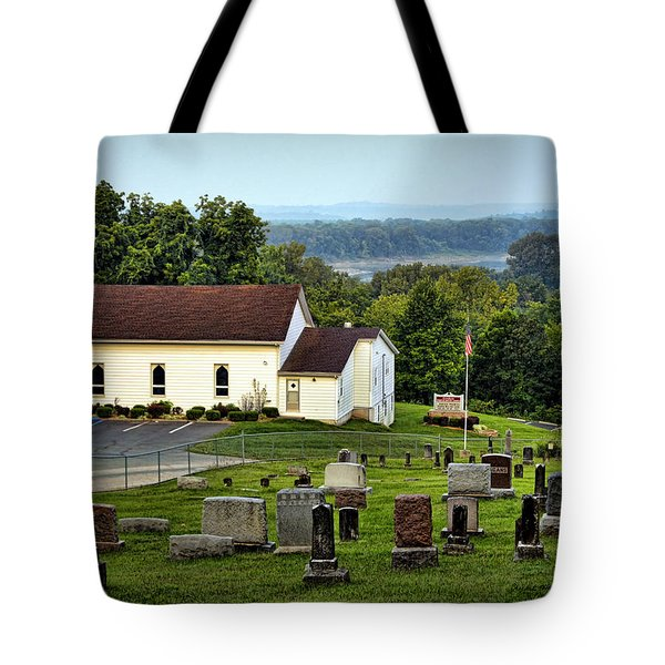 Morning At Goshen Tote Bag